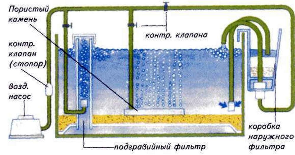 Как сделать для аквариума помпу