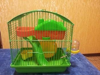 Клетка с лабиринтом для хомяка