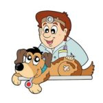 Рисунок доктора и собаки