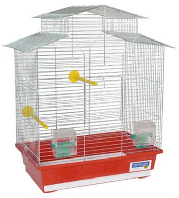 Высокая клетка для попугаев