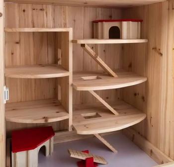 Небольшой домик для шиншиллы