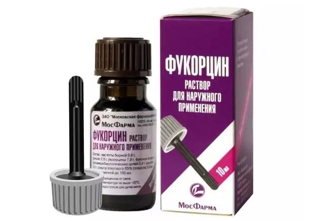 Фукорцин от лишая