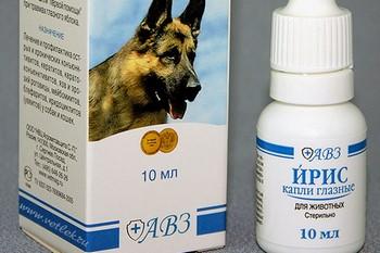 Глазные капли для собак ирис