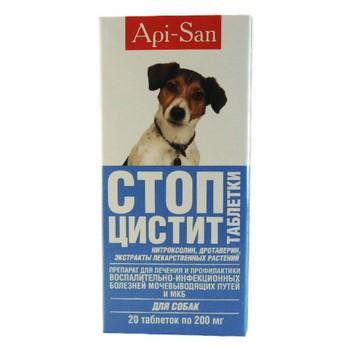Стоп цистит для собак