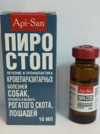 Пиростоп от пироплазмоза