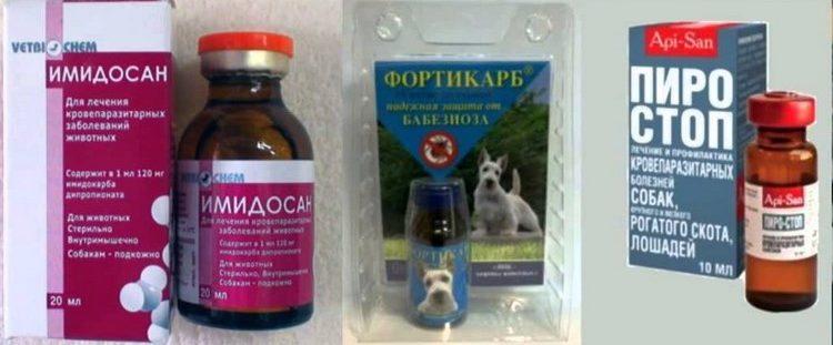 Препараты для лечения пироплазмоза